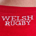 Wales WRU 2018 Off Field Logo Rugby T-Shirt
