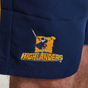 Highlanders 2019 Super Rugby Woven Training Shorts