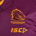 Brisbane Broncos NRL 2019 Players Rugby Polo Shirt