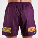 Brisbane Broncos NRL 2019 Players Rugby Training Shorts