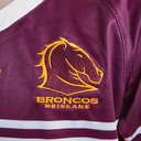 Brisbane Broncos NRL 2019 Kids Home S/S Rugby Shirt