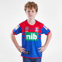Newcastle Knights NRL 2019 Kids Home S/S Rugby Shirt