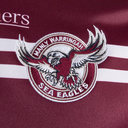 Manly Sea Eagles 2019 NRL Home S/S Rugby Shirt