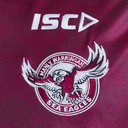 Manly Sea Eagles 2019 NRL Players Rugby Polo Shirt