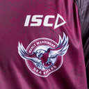 Manly Sea Eagles 2019 NRL Players Rugby Training T-Shirt