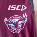 Manly Sea Eagles 2019 NRL Players Rugby Training Singlet