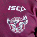 Manly Sea Eagles 2019 NRL Players Hooded Rugby Sweat