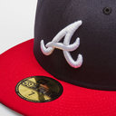 MLB Atlanta Braves Fitted 59FIFTY Cap