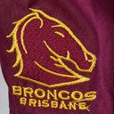 Brisbane Broncos NRL Kids Supporters Rugby Shorts