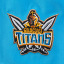 Gold Coast Titans NRL Kids Alternate Supporters Rugby Shorts