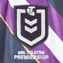 Melbourne Storm NRL 2019 Kids Home S/S Rugby Shirt