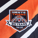 Wests Tigers NRL 2019 Home S/S Rugby Shirt