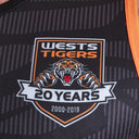 Wests Tigers NRL 2019 Players Rugby Training Singlet
