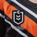 Wests Tigers NRL 2019 Kids Home S/S Rugby Shirt