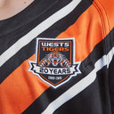 Wests Tigers NRL 2019 Youth Home S/S Rugby Shirt