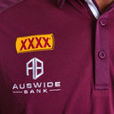 Queensland Maroons State of Origin 2019 Performance Rugby Polo Shirt