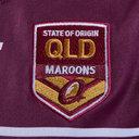 Queensland Maroons State of Origin 2019 Ladies S/S Rugby League Shirt