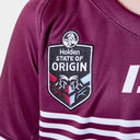 Queensland Maroons State of Origin 2019 Kids S/S Rugby League Shirt
