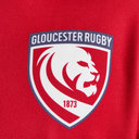Gloucester 2018/19 Remembrance Day Poppy S/S Rugby Shirt
