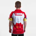 Catalans Dragons 2017 NRL Iron Man Marvel S/S Rugby Shirt