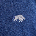Signature V-Neck Knit Sweatshirt