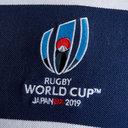 RWC 2019 Stripe Pique Polo Shirt