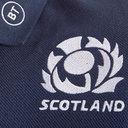 Scotland 2019/20 Players Travel Rugby Polo Shirt
