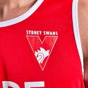 Sydney Swans 2019 AFL Players Training Singlet