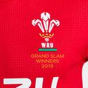 Wales WRU 2019 Grand Slam Winners Home S/S Replica Rugby Shirt