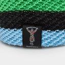 Harlequins Stripe Slouch Beanie Hat