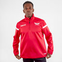 Scarlets 2019/20 1/4 Zip Microfleece Jacket