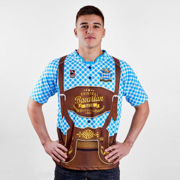 Bavaria Rfc   Home S S Rugby Shirt