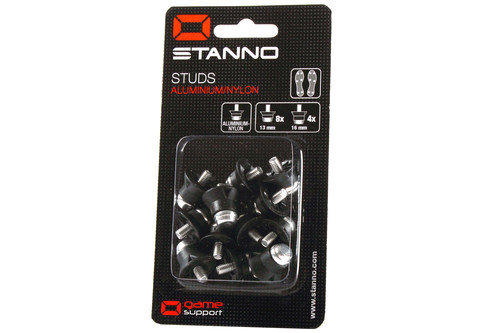 Aluminium/Nylon Football Studs - Pack of 12