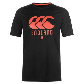 England Poly T Shirt Mens
