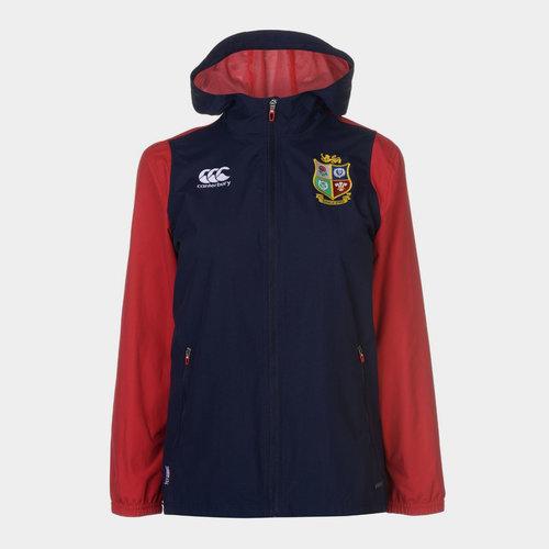 British And Irish Lions Full Zip Rain Jacket Ladies