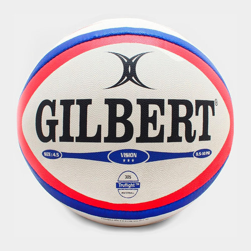 Gilbert Photon Match Rugby Ball Red/Blue