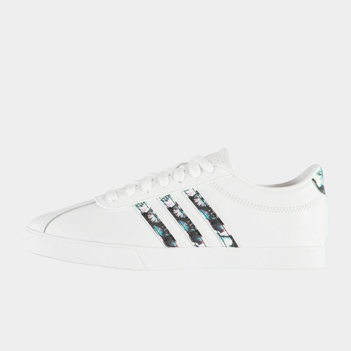 Court Set Leather Trainers Ladies