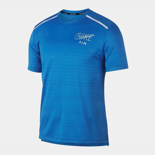 Miler Graphic Running Top Mens
