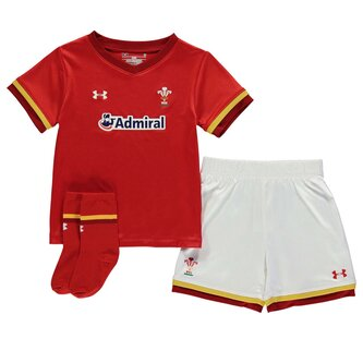 Wales Rugby Home Mini Kit Infant Boys