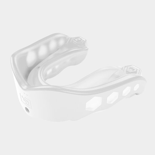 Shock Doctor Gel Max Rugby Mouthguard White/Clear
