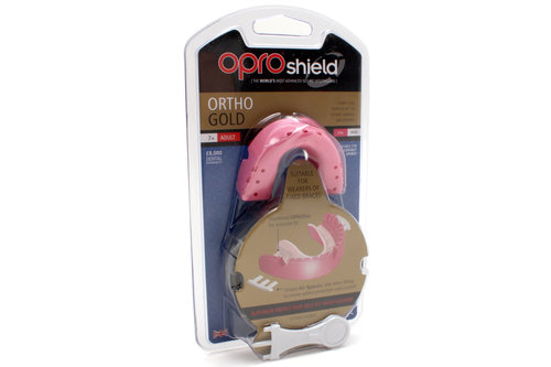 OproShield Ortho Gold Braces Mouthguard