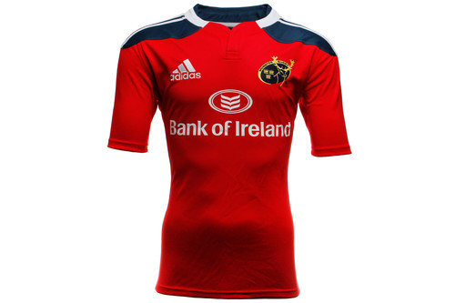Munster 2014/15 Replica Home S/S Rugby Shirt Red/Blue