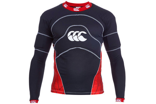 CCC Flexitop Elite Body Armour Black/Flag Red