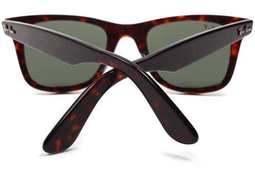 ab17bfd04d51 Ray Ban Rb2151 Wayfarer Sunglasses Tortoise Frame Crystal Green ...