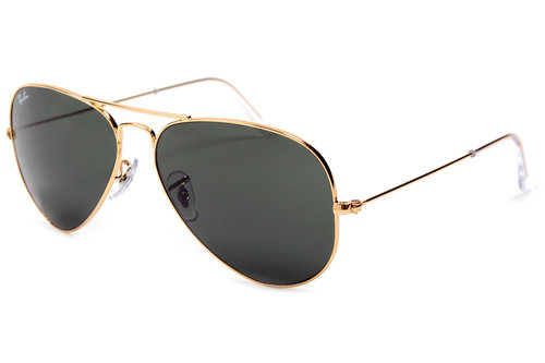 Ray-Ban 3025 L0205 Aviator Sunglasses Gold