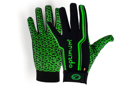 Velocity Full Finger Thermal Gloves Black/Green