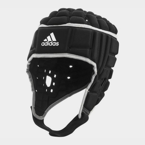 Adidas Rugby Headguard Black/Metallic Silver
