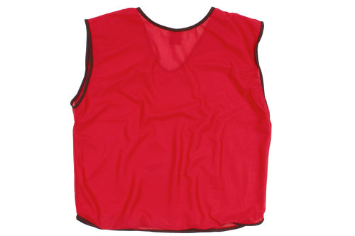 Mesh Training Bibs - Red