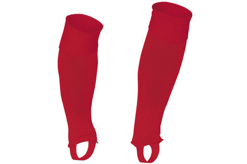 Uni Footless Socks Red