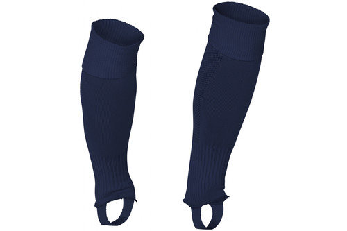 Uni Footless Socks Navy